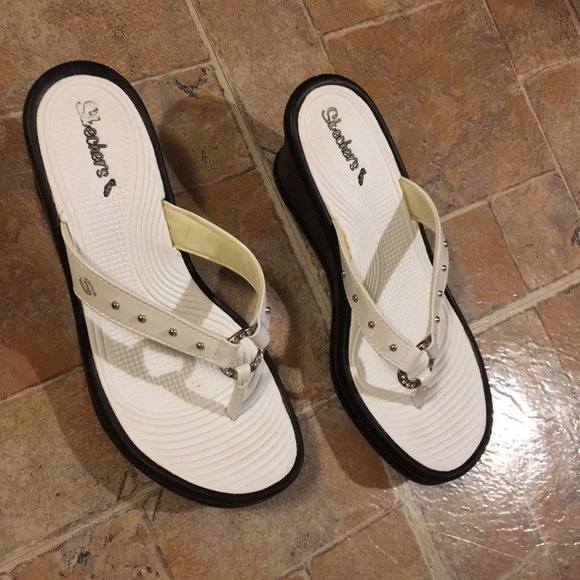 Skechers Shoes | Heeled Sandals Size